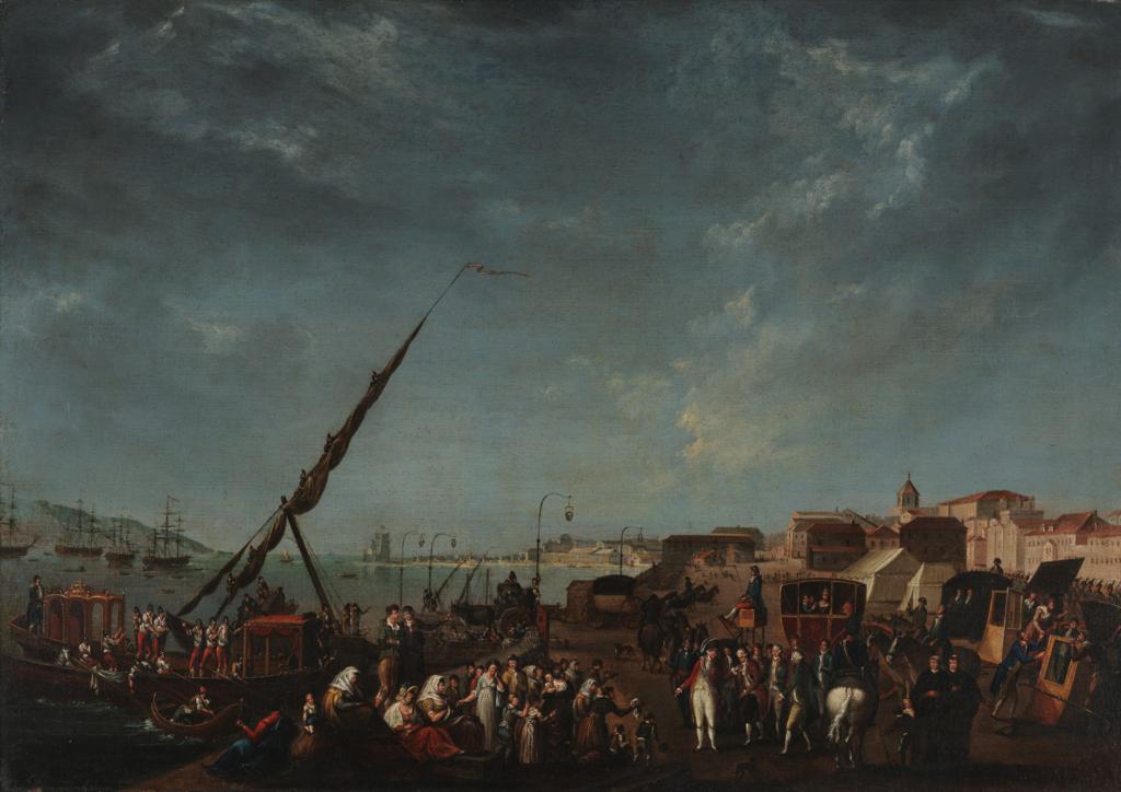 Embarque da Família Real para o Brasil em 1807, Nicolas-Louis-Albert Delerive