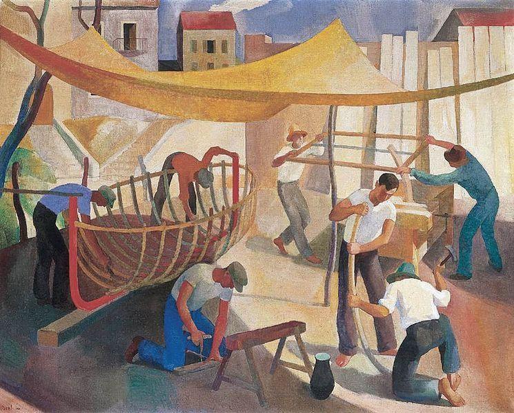 Trabalhadores – Karóly Patkó (1930)