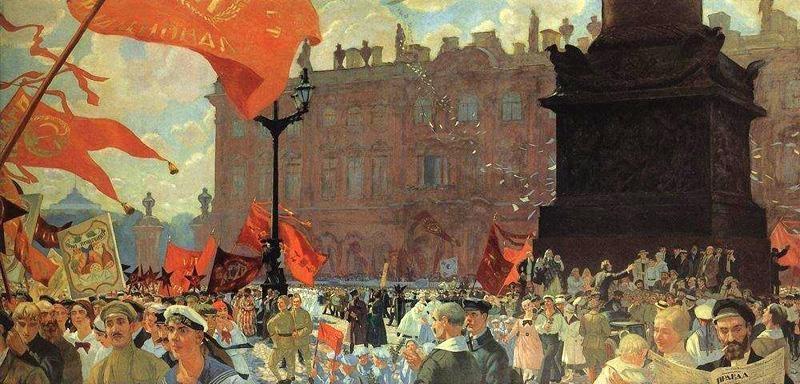 Congresso do Comintern – Boris Kustodiev (1921)