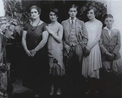 Frida e Família, 1924