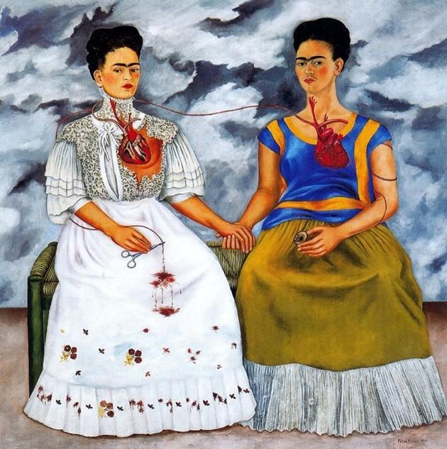 Quadro: As Duas Fridas