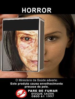 Disponível em: http://g1.globo.com/Noticias/Brasil/0,,MUL579986-5598,00- GOVERNO+LANCA+NOVAS+IMAGENS+PARA+EMBALAGENS+DE+CIGARRO.html
