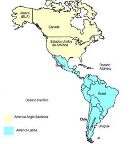Divisão histórica e cultural das américas