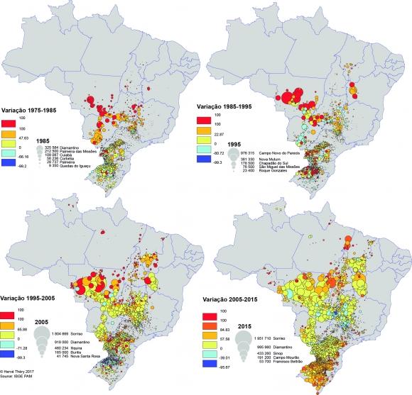 Quatro décadas de Marcha da Soja – 1975-2015