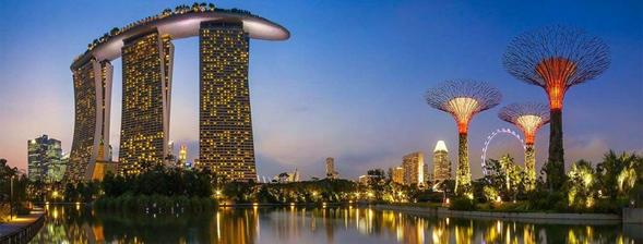Marina Bay Sands – Complexo de cassino, hotel e shopping de Singapura